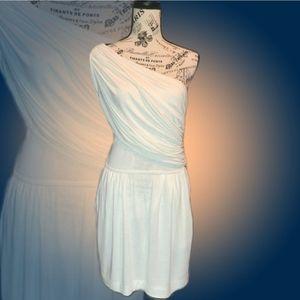 Mystic One Shoulder Grecian Style Dress